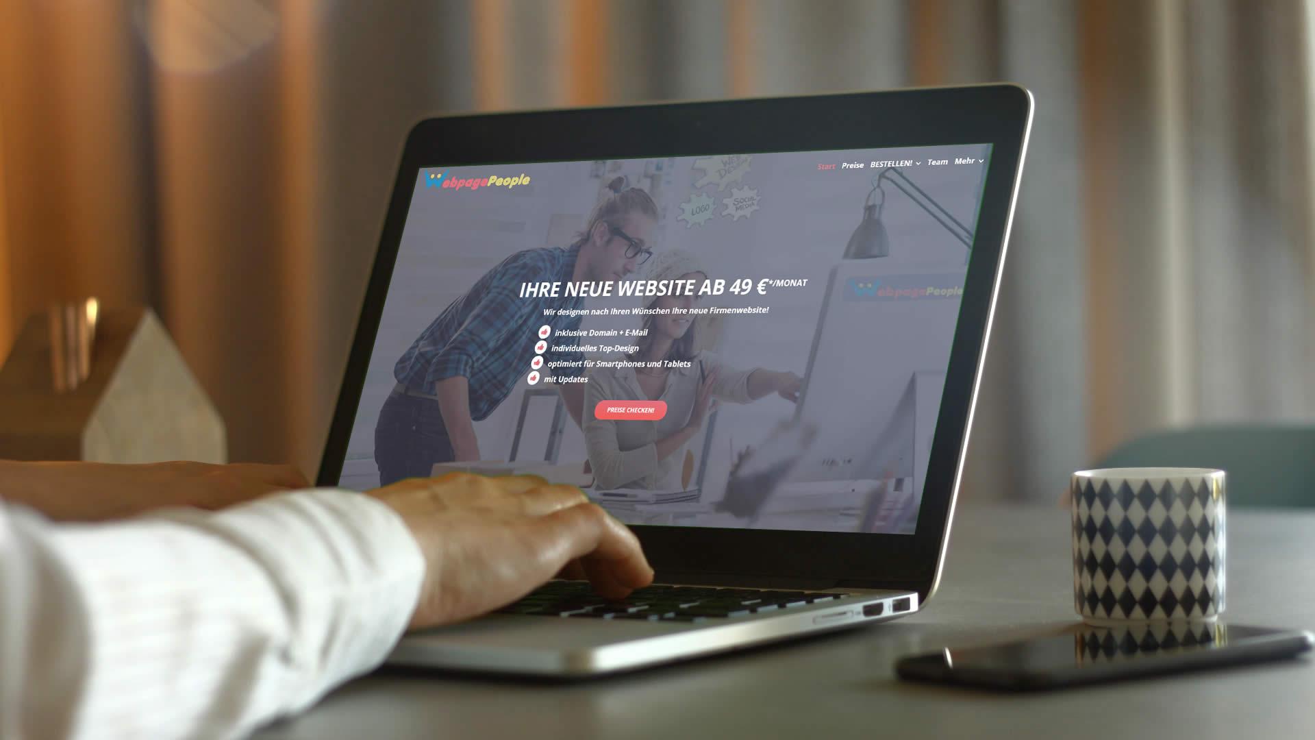 Webdesign in Kronberg