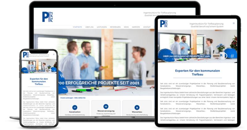 PIplus – Ingenieurbüro für Tiefbauplanung