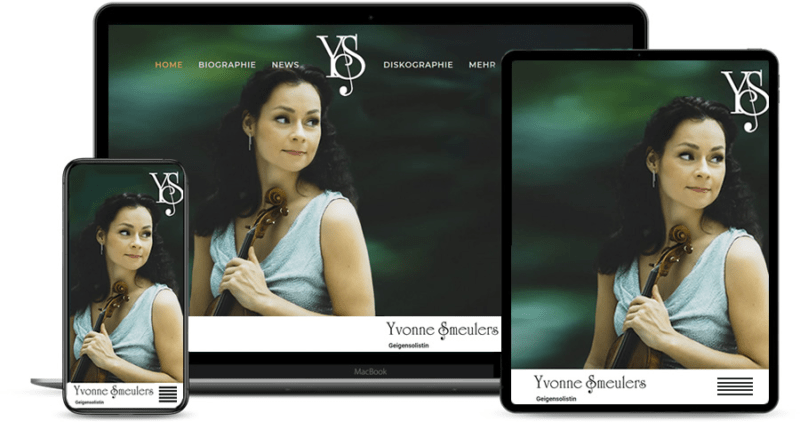 Yvonne Smeulers - Geigensolistin